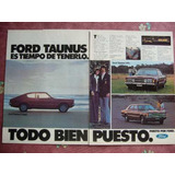 Ford Taunus Coupe Publicidad Grafica