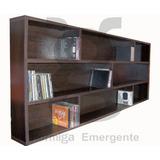 Biblioteca Porta Cd/dvd, Estante Porta Cd/dvd. Flotante