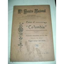 El Teatro Nacional ( Como El Colombia ), A. Soler Del Valle