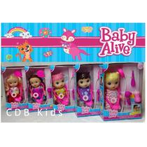 Boneca Baby Alive Genérica Cuida De Mim Importada.