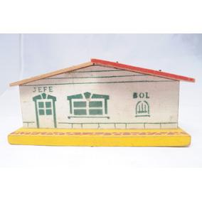 casita madera juguete antiguo infantil casa hogar