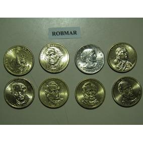 Robmar-324-usa-monedas De 1 Dolar Al Asar Del 1979 Al 2015