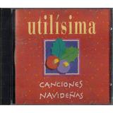 Pack De 2 Cd De Canciones Navideñas (utilisima) Feliz Navida