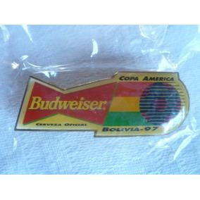 Pin Cerveza Budweiser Conmemorativo Copa América Bolivia ´97