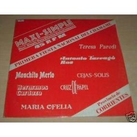 Teresa Parodi Hermanos Cardozo Chamame Vinilo Argentino Pro