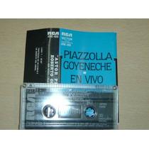 Piazzolla Goyeneche En Vivo (mayo 1982) Cassette Argentino