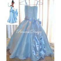 Disfraz Princesa Tiana La Princesa Y El Sapo