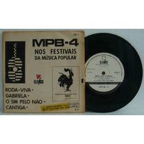 Mpb4 Compacto Vinil Nacional Usado Nos Festivais Da Música P