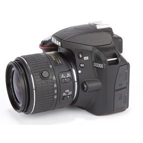 Câmera Nikon Dslr D3300 Com Lente 18-55mm 24.2 Mp Full Hd