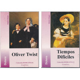 Charles Dickens Lote X 2 Libros - Oliver Twist - Ed Gradifco