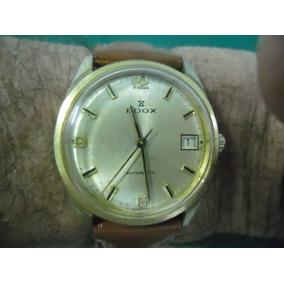 Relógio Edox Micromado Aut, Calendário Promoção+frete Grat