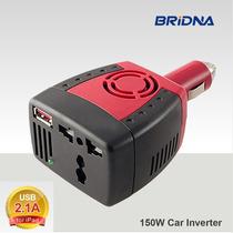 Inversor Energia Veicular De 12v Para 220v 150w Conversor