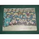 Poster Lamina Futbol Equipo Boca Juniors Sub Campeon 1950