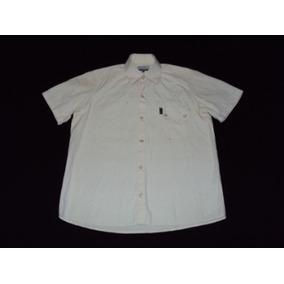 Camisa Stone Mangas Cortas Con Botones A Presion Talle M