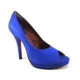 Peep Toe Bonnie & Clyde - Blue Style