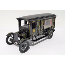 Ford T 1921 Carroza Funebre Esc 1:18 Greenlight Presicion
