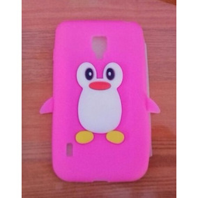 Funda Silicon 3d Pinguino Lg Optimus L7x