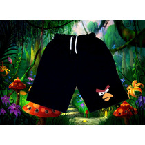 Bermudas Rustico Algodon Angry Birds, Perry, Spiderman Etc.