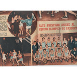 Poster Antiguo - Mundo Deportivo - + Tapa. Basquet. P.varela