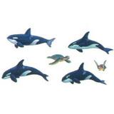 Adesivo Grande Parede Cartela Nº4 Coleção Baleias