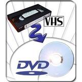 Pasar Vhs A Dvd