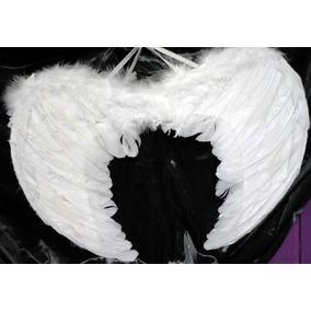 Alas De Angel Con Plumas Ideal Disfraz De Angel (60x43)