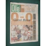 Diario Ole 26/10/98 Extra Clasico Boca Juniors River Plate