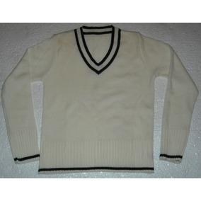 Sweater Escote En V C/nuevo