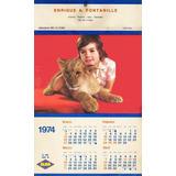Pinturas Alba Almanaque Calendario Año 1974 Publicidad (m)