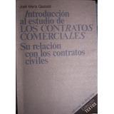 Introducción Al Estudo De Los Contratos Comerciales Gastaldi
