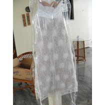 Vestido De Noiva - Grife Eliza T Com Cristais Swarovski