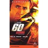 Vhs - 60 Segundos - Nicolas Cage, Angelina Jolie