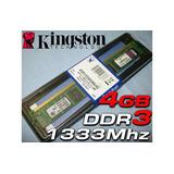 Neuquén Memoria Kingston Ddr3 4 Gb 1333 Mhz Nueva Garantía