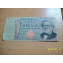 Billete De Italia 1.000 Lira (1969)