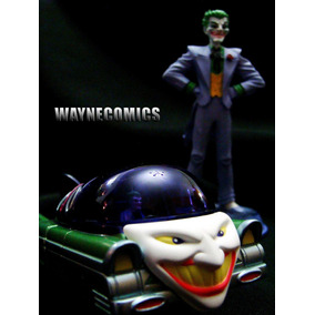 The Joker Batimovil Guason Corgi Deluxe Batman Batmobile X2