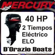 Fuera De Borda Mercury 40 Hp 2 Tiempos 2 Cil Dorazio