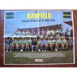 Banfield Campeon Poster De El Grafico