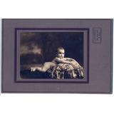Antigua Foto De Bebe Desnudo - Año 1924