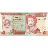 Billete Belice 5 Dolares Año 2009 Sin Circular