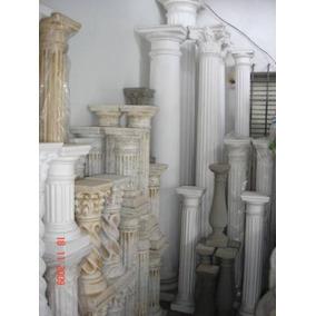 Columnas Toscanas Y Doricas En Marmolina Y Ceme. Fuentes Ros