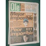 Diario Ole 3/11/98 River Boca Central Union Independiente