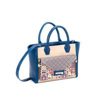 Bolsa Para Dama Corazon De Melón Dianca Azul