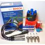 Kit Cables De Bujias+bujias+tapa+rotor Gol Power 1.6 C/dist.