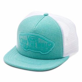 Gorra Plana Vans Sea Blue Snapback Malla 100% Original