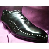 Zapatos Hechos A Mano De Baile: Tango Salsa O Fiesta