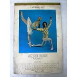 Calendario 1982 - Fotos De Ballet De Jorge Fama - Almanaque