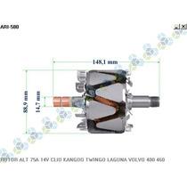 Rotor Para Alternador Clio Sedan Flex 1.6 16v 04/06 - Arielo