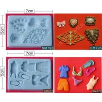 Molde De Silicona Flexible - Modelos - Porcelana Fria