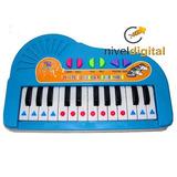 Piano Musical Con Radio Real Mi 1ra Radio Teclado En Caja