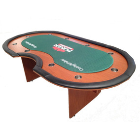 Mesa De Poker Profesional 10 Jugadores + Crupier + Logo